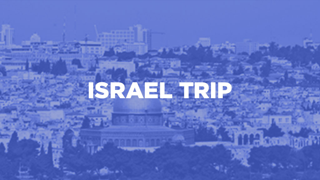 Register for the 2020 Israel Trip with Victory Family Church