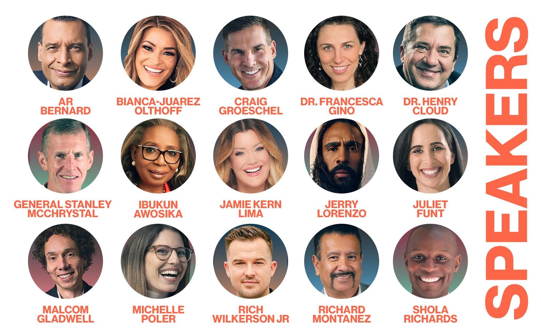 Global Leadership Summit speakers